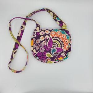 Vera Bradley Plum Crazy Crossbody Bag